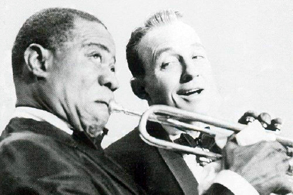 bing crosbey and louis armstrong