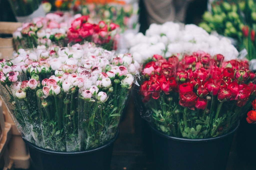 Flowers at market