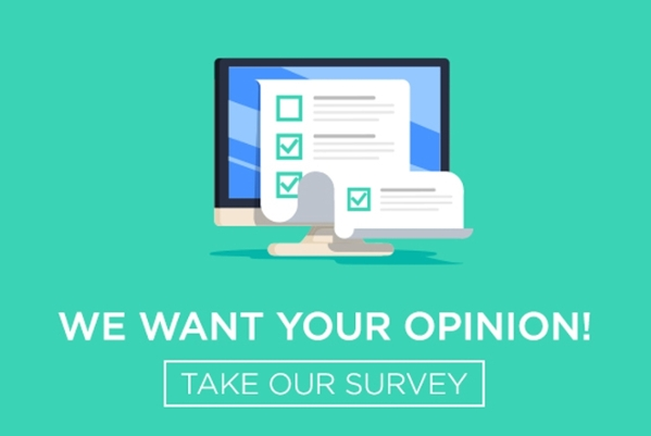 Take Our Survey Header